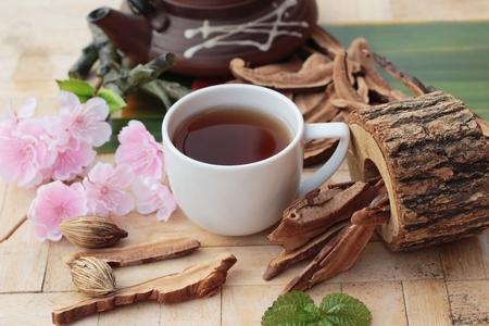 lucidum: Lingzhi mushroom tea - Ganoderma lucidum for health