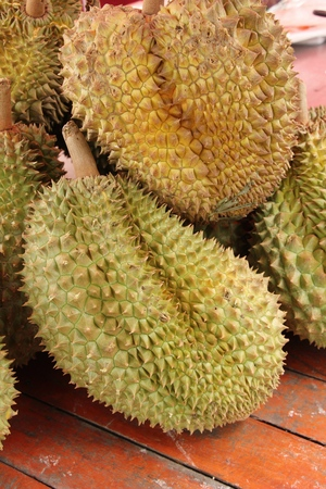 Durian fruit is delicious at street food