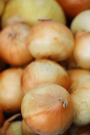 Fresh onion for cooking at street food Banco de Imagens - 120261008