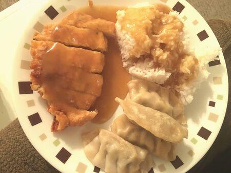 Homemade Chinese dinner