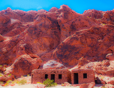 The Cabins at the Valley of Fire