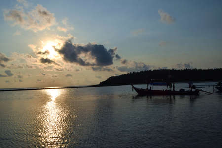 fishingboat: Chaweng Beach at Samui in Thailand