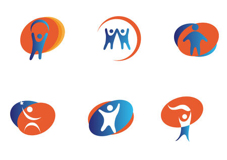 Isolated people signs and symbols for design Stock Vector - 5609130