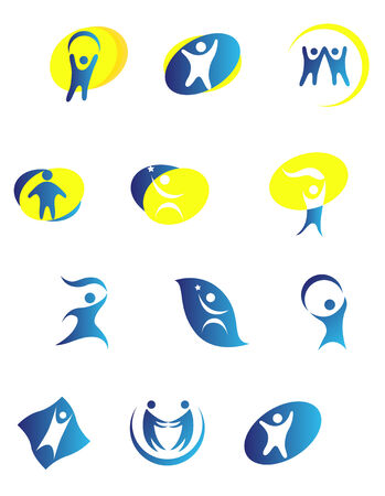 Isolated people signs and symbols for design Stock Vector - 5690357