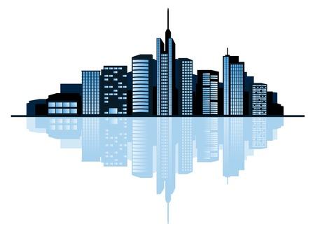 Modern cityscape for design as a business concept Stock Vector - 6188939