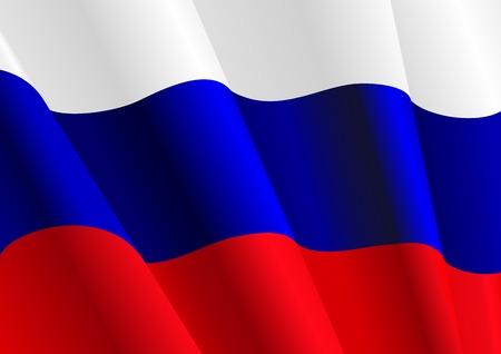 Flaga Rosji do projektu jako tło lub tekstura Zdjęcie Seryjne - 6198550