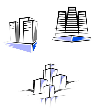 Real estate symbols for design and decorate Stock Vector - 6310572