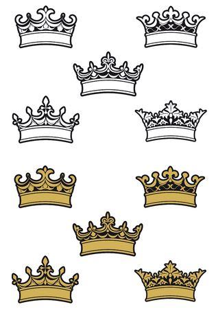 diadema: Her�ldica coronas y diademas para dise�ar y decorar