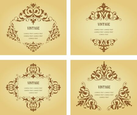 Flower patterns and borders for design and ornate Stock Vector - 6827166