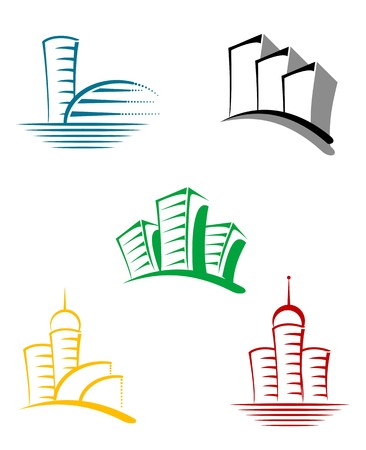 Real estate symbols for design and decorate Stock Vector - 7132105