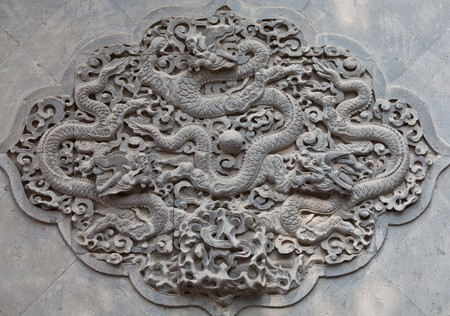 Elements of ancient eastern architecture in China Stock Photo - 7219684