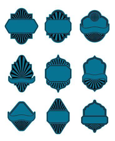 Set of vintage labels for design food Stock Vector - 7248483