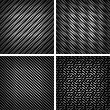 Carbon or fiber background for texture esign Vector