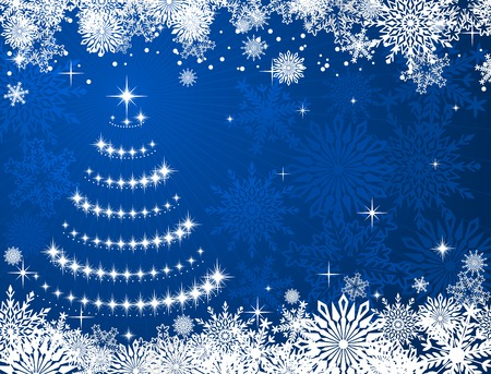Christmas or new year background for design Stock Vector - 8702423