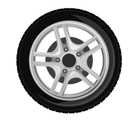 felgen: Rad und Reifen f�r Transport oder Service design