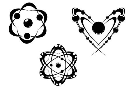 water molecule: S�mbolos de ciencia e iconos para medicina, biolog�a, farmacia y otro dise�o cient�fico Vectores