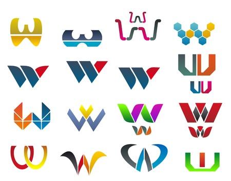 alphabetical letters: Conjunto de s�mbolos del alfabeto de la letra W