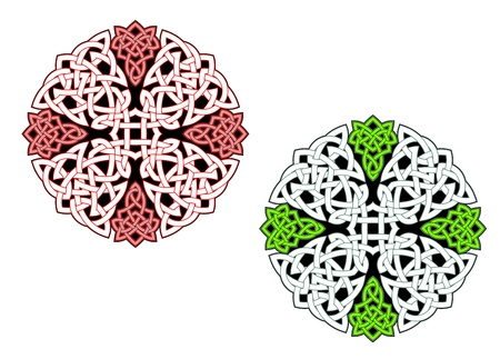 pagan: Celtic ornaments and patterns for irish or religious design