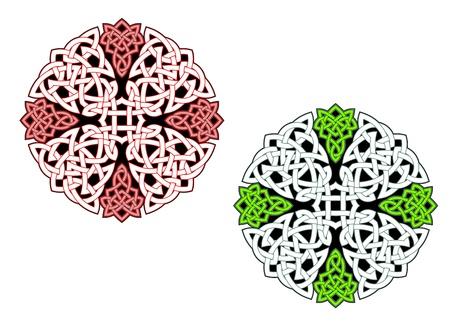 pohanský: Keltské ornamenty a vzory pro irské nebo náboženské designu