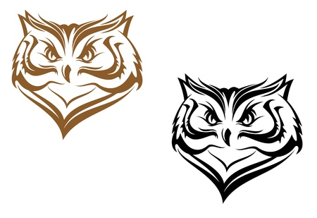 bird of prey: Owl mascot