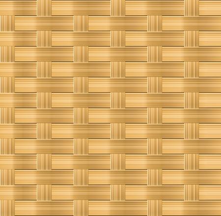 straw mat: Wicker seamless pattern for organic background design
