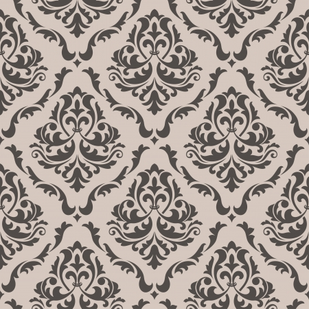 vintage wallpaper: Seamless floral pattern for background design in victorian style