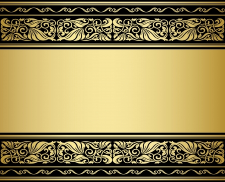 Gilded ornmaments and patterns with flourish elements for design Stock Vector - 20721618