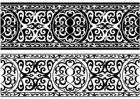persian: Decorative arabian or persian ornament in medieval style