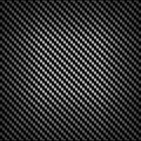 carbon fibre: Carbon or fiber background texture with a repeat diagonal pattern and central highlight in a striking geometric design