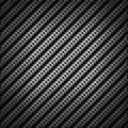Abstract metallic background design formed of repeat squares and rectangles in shades of silver and grey giving the optical illusion of diagonal stripes with edge vignetting and a square format