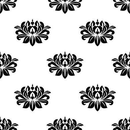 dainty: Dainty floral damask style fabric pattern with a small repeat arabesque motif in a seamless pattern in square format
