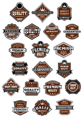 Vintage en retro wilde westen stijl etiketten of banners voor retail en verkoop design Stock Illustratie