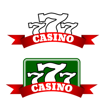 jack pot: Emblemas de casino Jackpot Vectores