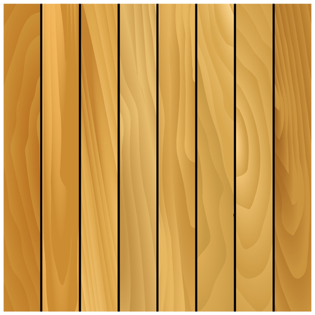 aspen: Brown wooden texture pattern with decorative pine panels. For background or parquet design Illustration