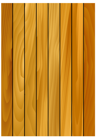 panelling: Oak wooden background with natural pattern of wood texture, for backdrop or carpentry design Illustration