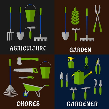 gardening: Tools for gardening and agriculture work