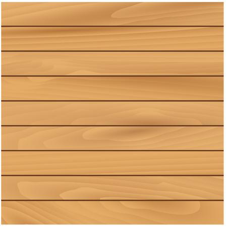 fondo natural de la textura de madera clara con paneles de pino horizontales estrechas. Para el uso del diseño o construcción inter Ilustración de vector