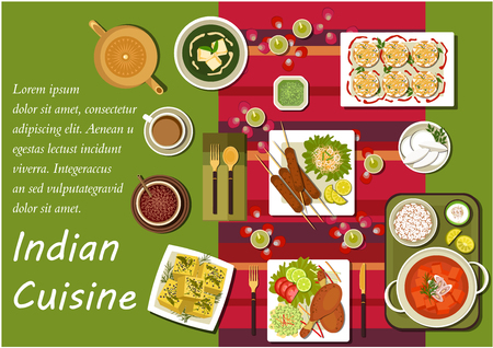 Indian cuisine dishes