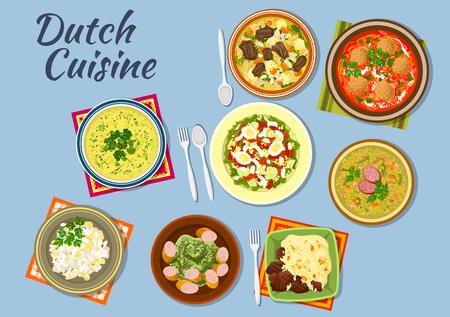 Piatti della cucina olandese