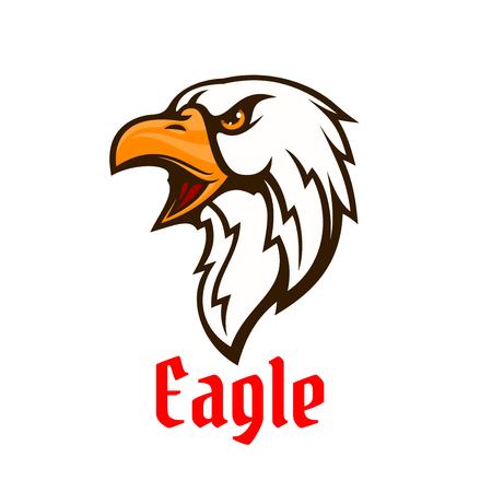 Falcon mascot logo