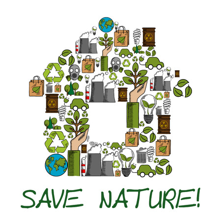 Save Nature Nature Is Our Home Ecology Environment Protection