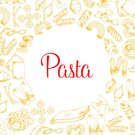 パスタ イタリア料理ベクター デザインのポスター 写真素材 - 79001292