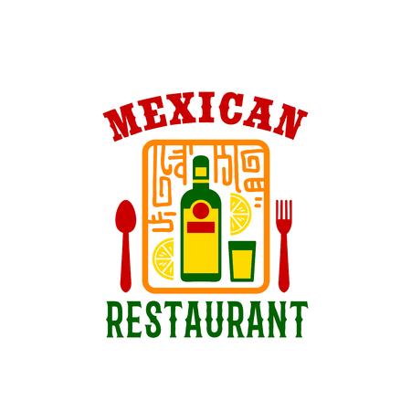 enchilada: Vector icon for Mexican food restaurant menu Illustration