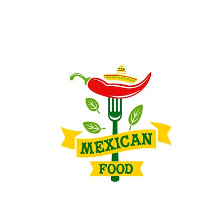 Icone di cibo alimentare messicano peperoncino jalapeno Archivio Fotografico - 87837631