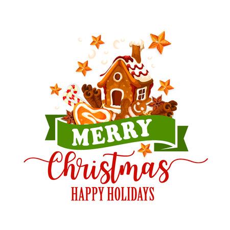 Weihnachtsplätzchen, Zuckerstangeikone für Weihnachtsdesign Standard-Bild - 88065689