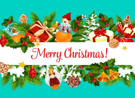 크리스마스 인사말 카드 디자인 서식 파일입니다. 일러스트