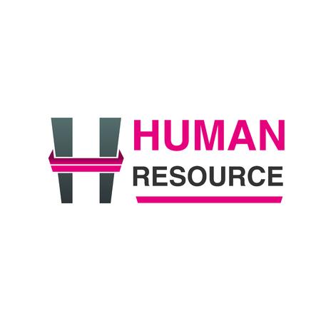 Human resource vector icon.