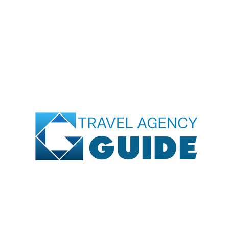 Logo for tour and travel agency.