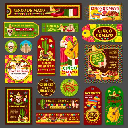 Cinco de mayo mexican fiesta party tag and greeting card set cinco de mayo mexican fiesta party tag and greeting card set latin american holiday sombrero m4hsunfo