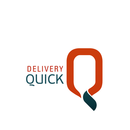 Logo for quick delivery service